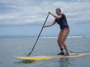 BEFORE: a few years back, when she discovered SUP
