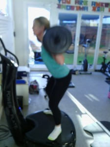 Power Plate Wide Squats