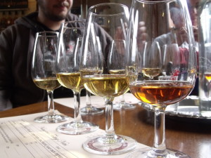 Whisky tasting in NZ