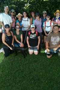 Dy one hike one, great turnout!