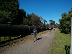 The pipeline track