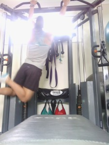 Monkey bar swings. 2 x 20 each side