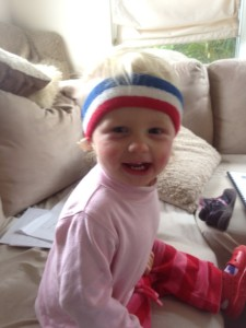 Maia is a happy kids, even though her mum has a full day off parenting every week!